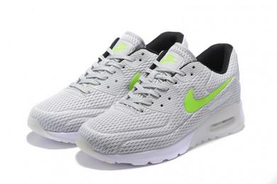 "Nike Air Max 90 ""platino puro"" zapatos formadores gris claro-fluo"