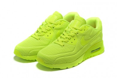 """Nike Air Max 90 zapatillas de deporte """"Platinum"""" puro verde de combustión"""