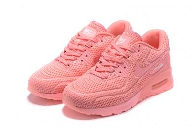 """Nike Air Max 90 """"platino puro"""" no tripuladas zapatillas de color rosa"""