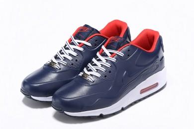 Nike Air Max 90 HYP QS/VTQS medianoche Zapatos de la zapatillas azul-rojo