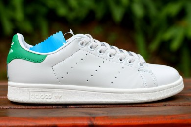 Adidas Stan Smith zapatos formadores verde blanco