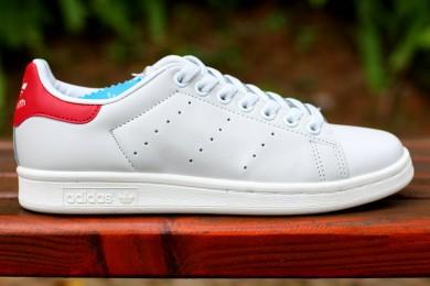 Adidas Stan Smith zapatillas de deporte de color rojo blanco