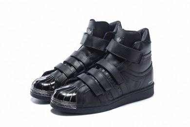 Adidas Superstar 80s instructores zapatillas de deporte negro/plata