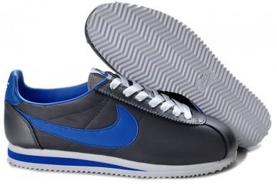 trainers gris Nike Classic Cortez Nylon azul marino para hombre