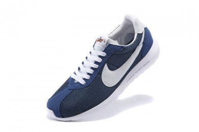 azul Nike Roshe LD-1000SP Frag hombreto Armada para hombre/profunda hombrete/zapatillas de deporte blancas azules