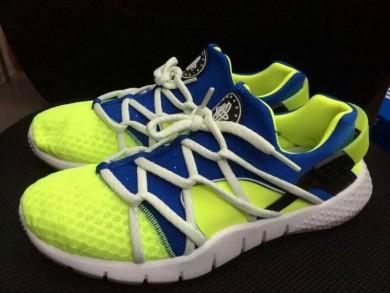Nike Air Huarache formadores fluo/azul real