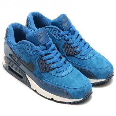 Nike Air Max 90 instructores azul-cian