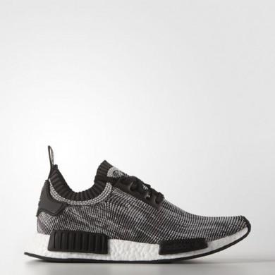Adidas NMD Runner Primeknit zapatos originales en color Negro Core/Core Negro/Blanco FTWR