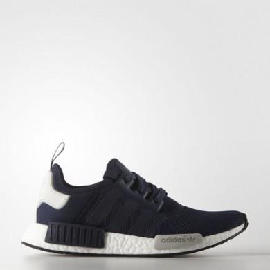 Adidas zapatillas de deporte NMD_R1 original formadores Azul marino/azul marino y/FTWR Blanca