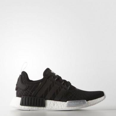 Adidas NMD_R1 zapatos originales en color Negro Core/Core Negro/Blanco FTWR