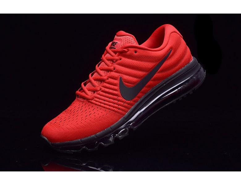 Nike Air Max 2017 de color rojo negro formadores zapatillas