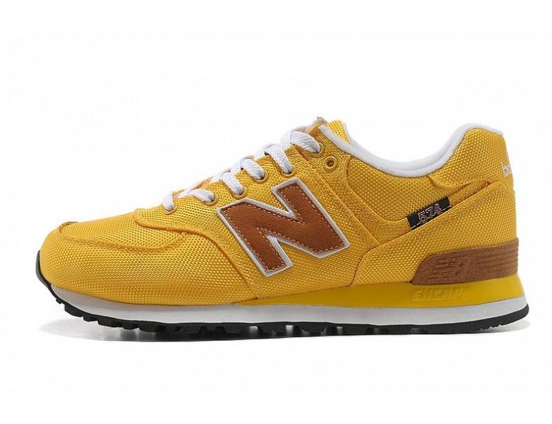 new balance hombres zapatillas amarillas